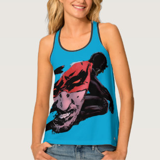 Daredevil Face Silhouette Tank Top