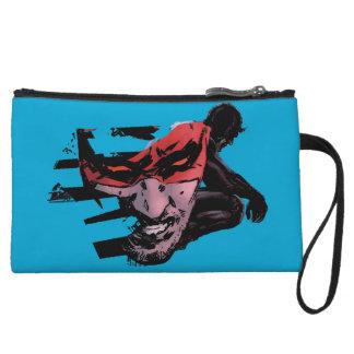 Daredevil Face Silhouette Wristlet