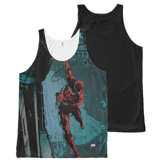 Daredevil Hanging From A Ledge All-Over-Print Tank Top