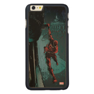Daredevil Hanging From A Ledge Carved Maple iPhone 6 Plus Case
