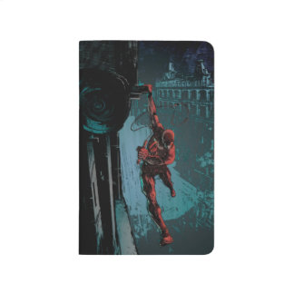 Daredevil Hanging From A Ledge Journal