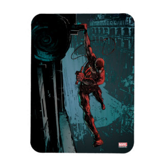 Daredevil Hanging From A Ledge Magnet
