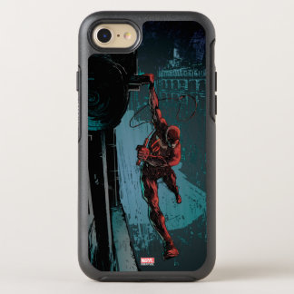 Daredevil Hanging From A Ledge OtterBox Symmetry iPhone 8/7 Case