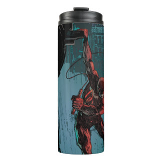 Daredevil Hanging From A Ledge Thermal Tumbler