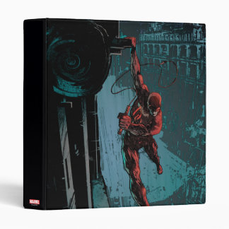 Daredevil Hanging From A Ledge Vinyl Binders