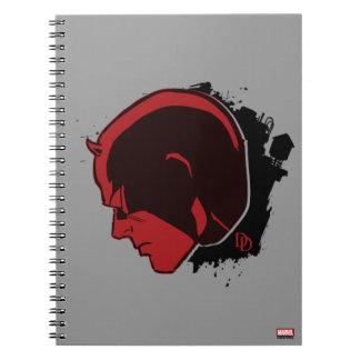 Daredevil Head Profile Notebooks