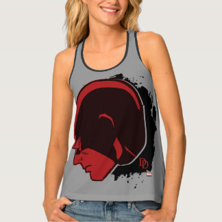 Daredevil Head Profile Tank Top