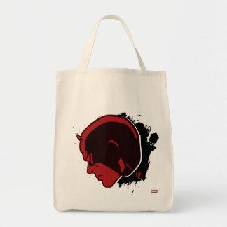 Daredevil Head Profile Tote Bag