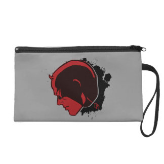 Daredevil Head Profile Wristlet
