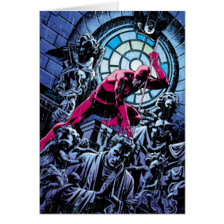 Daredevil Inside A Church Card