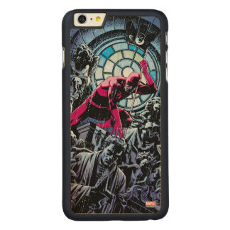 Daredevil Inside A Church Carved Maple iPhone 6 Plus Case