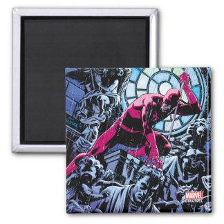 Daredevil Inside A Church Magnet