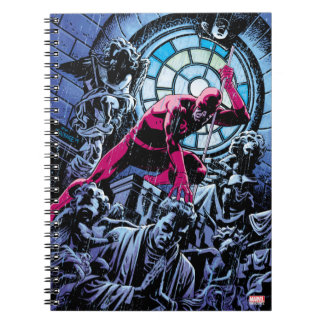 Daredevil Inside A Church Notebook