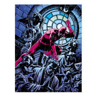 Daredevil Inside A Church Postcard