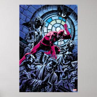 Daredevil Inside A Church Poster