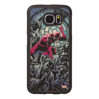 Daredevil Inside A Church Wood Phone Case