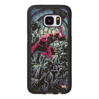 Daredevil Inside A Church Wood Samsung Galaxy S7 Case