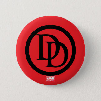 Daredevil Logo 2 Inch Round Button