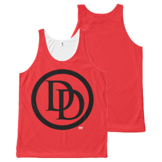 Daredevil Logo All-Over-Print Tank Top