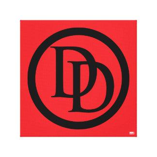 Daredevil Logo Canvas Print
