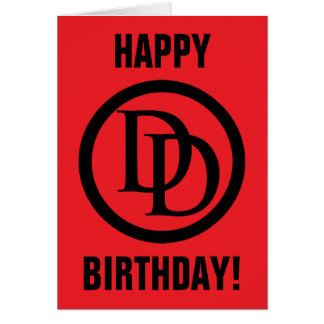 Daredevil Logo Card
