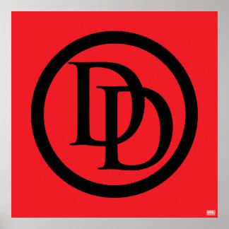 Daredevil Logo Poster