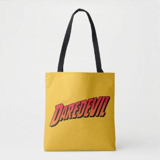 Daredevil Name Logo Tote Bag