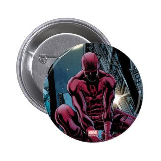 Daredevil Running Through The City 2 Inch Round Button