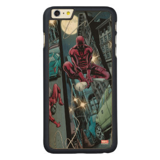 Daredevil Running Through The City Carved Maple iPhone 6 Plus Case