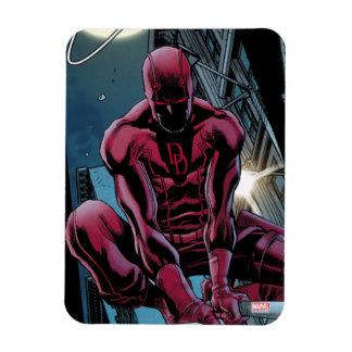 Daredevil Running Through The City Magnet