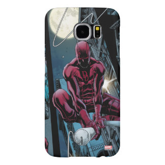 Daredevil Running Through The City Samsung Galaxy S6 Cases
