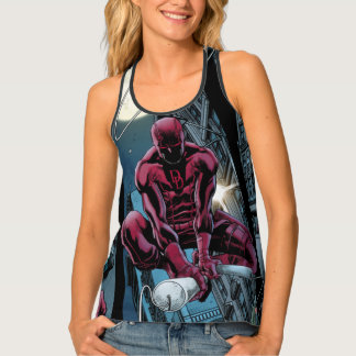 Daredevil Running Through The City Tank Top