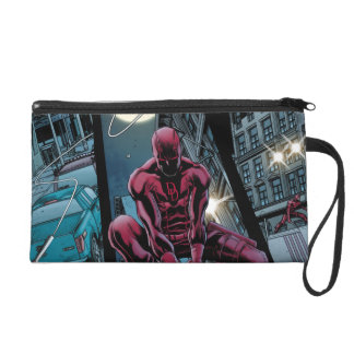Daredevil Running Through The City Wristlet