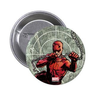 Daredevil Senses 2 Inch Round Button