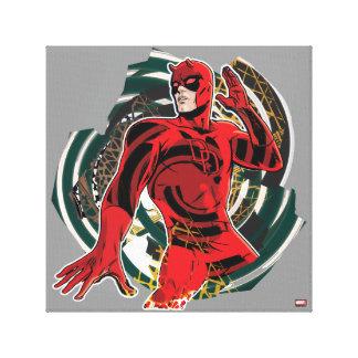 Daredevil Sensory Swirl Canvas Print