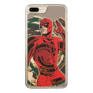 Daredevil Sensory Swirl Carved iPhone 8 Plus/7 Plus Case