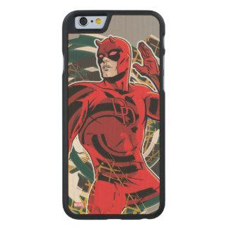 Daredevil Sensory Swirl Carved Maple iPhone 6 Case