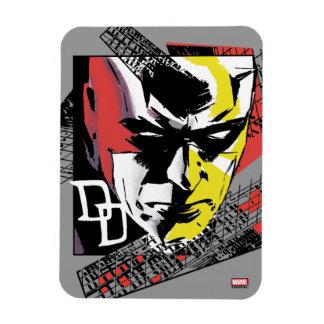 Daredevil Tri-Color Scaffolding Graphic Magnet