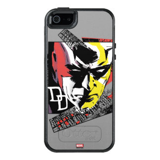 Daredevil Tri-Color Scaffolding Graphic OtterBox iPhone 5/5s/SE Case