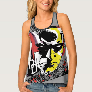 Daredevil Tri-Color Scaffolding Graphic Tank Top