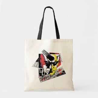 Daredevil Tri-Color Scaffolding Graphic Tote Bag