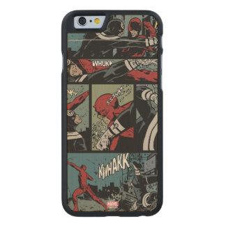 Daredevil Versus Bullseye Carved Maple iPhone 6 Case