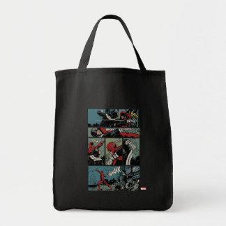 Daredevil Versus Bullseye Tote Bag