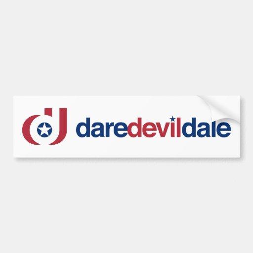 DareDevilDale Bumper Sticker