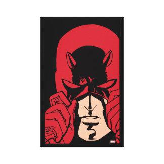 Daredevil's Mask Canvas Print