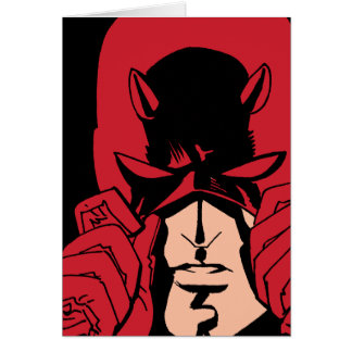 Daredevil's Mask Card