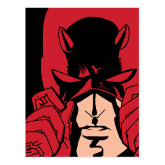 Daredevil's Mask Postcard