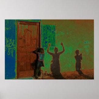 Darfur Doorway Poster