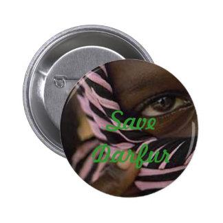 darfur, Save Darfur Pinback Buttons