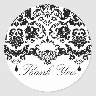 Daring Damask Sticker